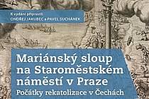 Obálka knihy o mariánském sloupu.  Zdroj: Stanislav Vaněk