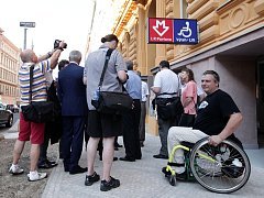 Slavnostní otevření další bezbariérové stanice metra I. P. Pavlova.