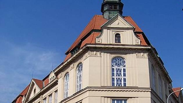 Budova Gymnázia Na Zatlance.