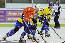 Slávističtí in-line hokejisté podlehli Švédsku 6:12.