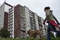 Dům v Písnici s byty, které jsou určeny k prodeji.