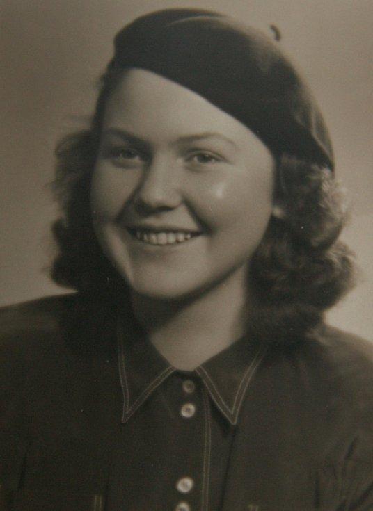 Eva v roce 1948.