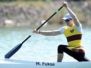 RYCHLOSTNÍ KANOISTA Martin Fuksa odlétá na mistrovství světa s velikými plány.