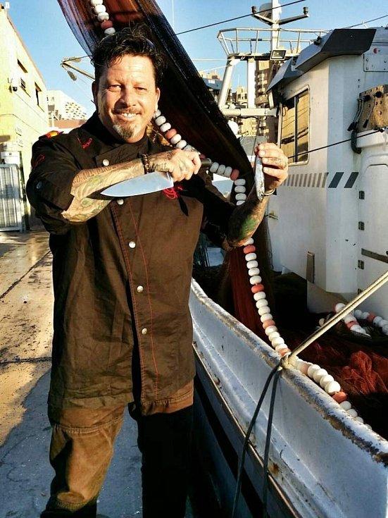 Jeden z uznávaných španělských šéfkuchařů Joseph 'Jeff' Bormes.