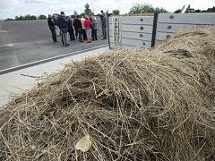 Otevření nové kompostárny ve Slivenci.