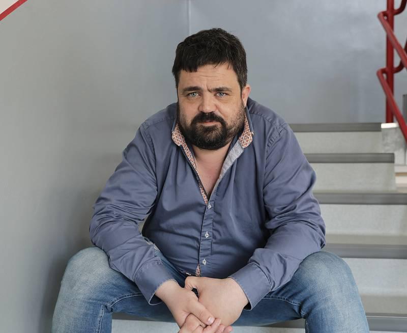 Starosta pražských Řeporyjí Pavel Novotný.