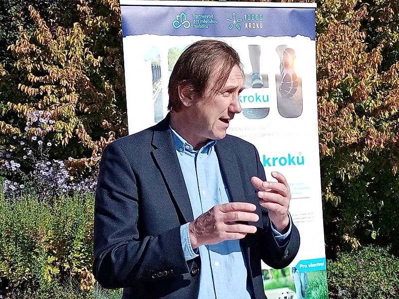 Moderátor Antonín Duchoslav.