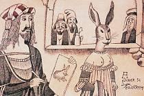 Výstava z díla malíře, kreslíře, grafika, ilustrátora, animátora a kostýmního výtvarníka Adolfa Borna začala v galerii Hollar.