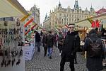 Praguemarket na Náměstí Republiky.
