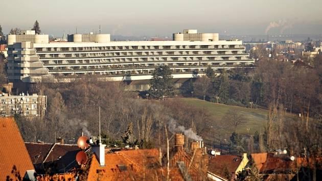Hotel Praha, který čeká připravovaná demolice.