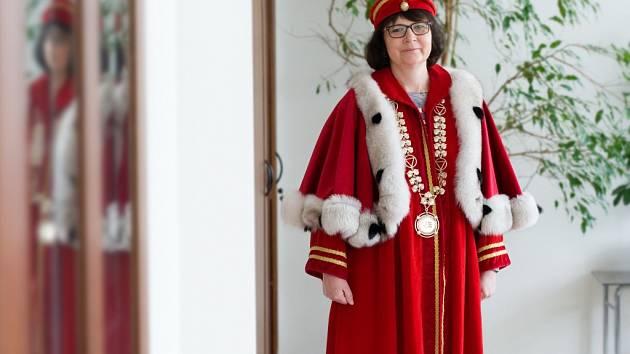 Rektorka VŠE Hana Machková.
