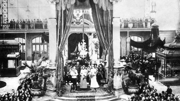 Zahájení Výstavy – Jubilejní zemskou výstavu v roce 1891 zahájil arcivévoda Karel Ludvík, bratr císaře. Do politiky se nemíchal a reprezentoval císařský dvůr při nejrůznějších slavnostních příležitostech a výstavách.