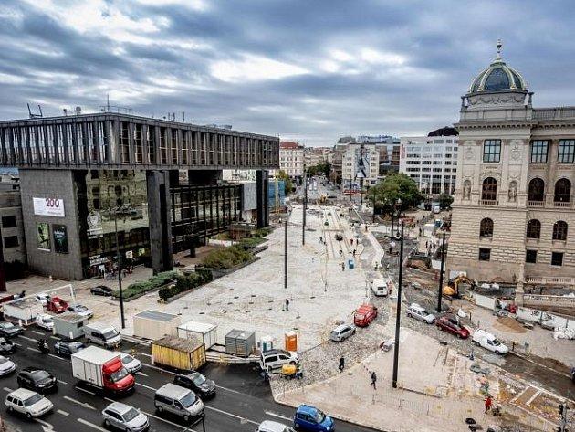 Muzejní oáza je součástí revitalizace horní části pražského Václavského náměstí.