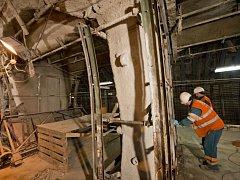 DPP zahájil druhou fázi oprav ve stanici metra B Jinonice.