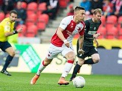 24. kolo první fotbalové ligy: Slavia Praha - FK Jablonec 0:0.
