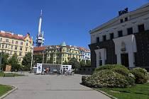 Praha 3 představuje veřejnosti projekt na revitalizaci náměstí Jiřího z Poděbrad.