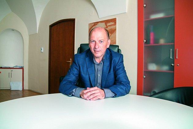 Šéf pražské hospodářské komory Roman Pommer.