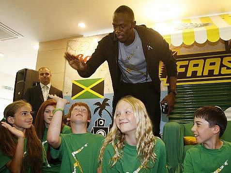 1. června proběhlo v Praze setkání s jamajským sprinterem Usainem Boltem.