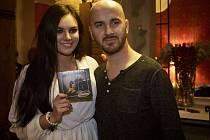 Křest CD Hit za hitem. Na snímku Igor Timko a Ewa Farna