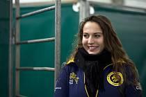 Parkurová jezdkyně Anna Kellnerová se zúčastnila 18. listopadu 2019 v Praze novinářské prohlídky prostorů O2 Areny před parkurovou soutěží Prague PlayOffs, která bude vyvrcholením série Global Champions.