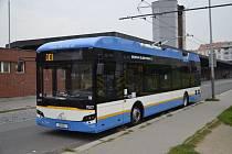 Parciální trolejbus Ekova Electron 12T.