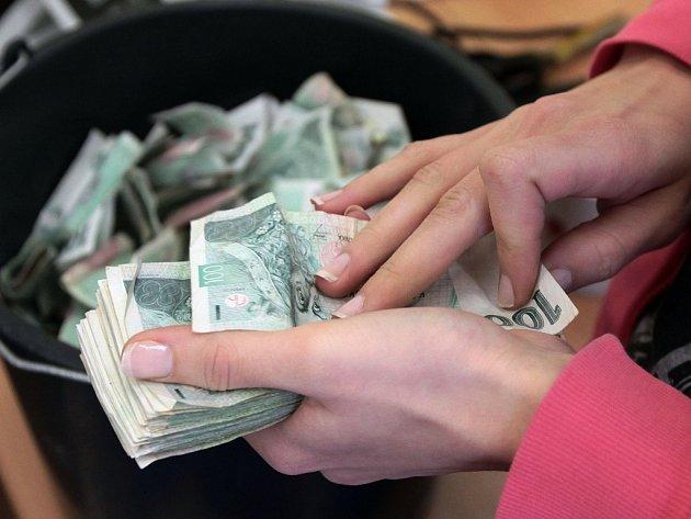 Peníze a ekonomika. Ilustrační foto.