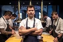 Oldřich Sahajdák, šéfkuchař v restauraci La Degustation, poskytl 18. srpna v Praze rozhovor Deníku.