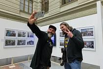 Slavnostní večer na výstavě Czech Press Photo 2020 v Národním muzeu.