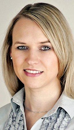 Lenka  Estévez,  Vodafone Senior Recruitment Specialist.