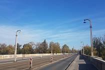 Libeňský most v Praze dostal k 91. výročí od otevření nová LED světla.