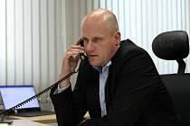 Ředitel Městské policie Praha Eduard Šuster.