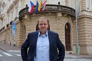 Starosta Prahy 3 Jiří Ptáček.