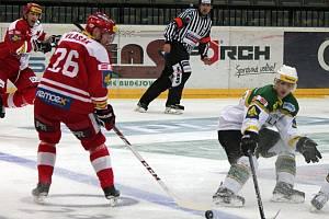 46. kolo hokejové extraligy: HC Slavia Praha - HC Energie Karlovy Vary 1:2 (1:0, 0:1, 0:1).
