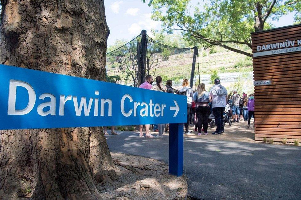 Zoo Praha otevřela Darwinův kráter.