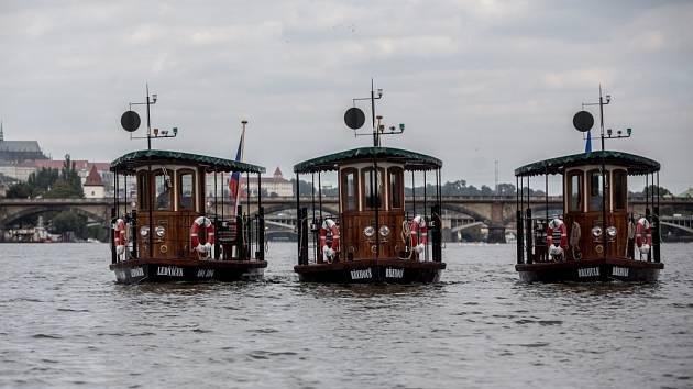 Společnost Pražské Benátky představila nové lodě.