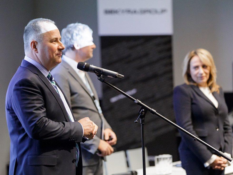 Vídeňský kampus Erste group viděla primátorka Adriana Krnáčová.