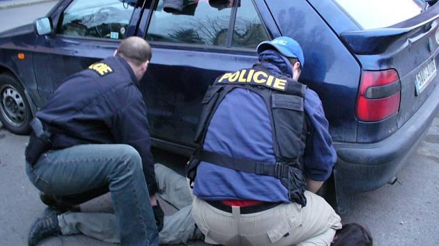 Zadržení pachatele bylo dílem okamžiku./Ilustrační foto
