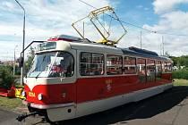 Tramvaj T3R.PLF – s takzvanou wanou.