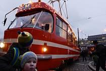 Mazací tramvaj. Ilustrační foto.