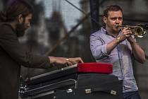 Koncertem rakouské skupiny Kompost3 začal 13. července pražský program festivalu Bohemia Jazzfest na Staroměstském náměstí.