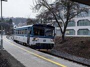 Nová vlaková stanice Praha-Jinonice 19. prosince.