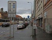 Plzeňská ulice v Praze.