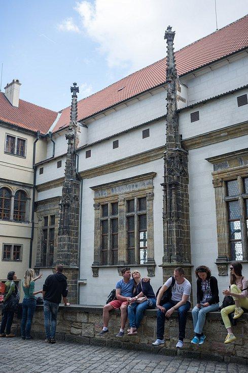 Praha neznámá, Pražský hrad, starý královský palác, 26.5.2017