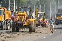 Poslední velká oprava trati na Bubenském nábřeží se uskutečnila před skoro 20 lety.