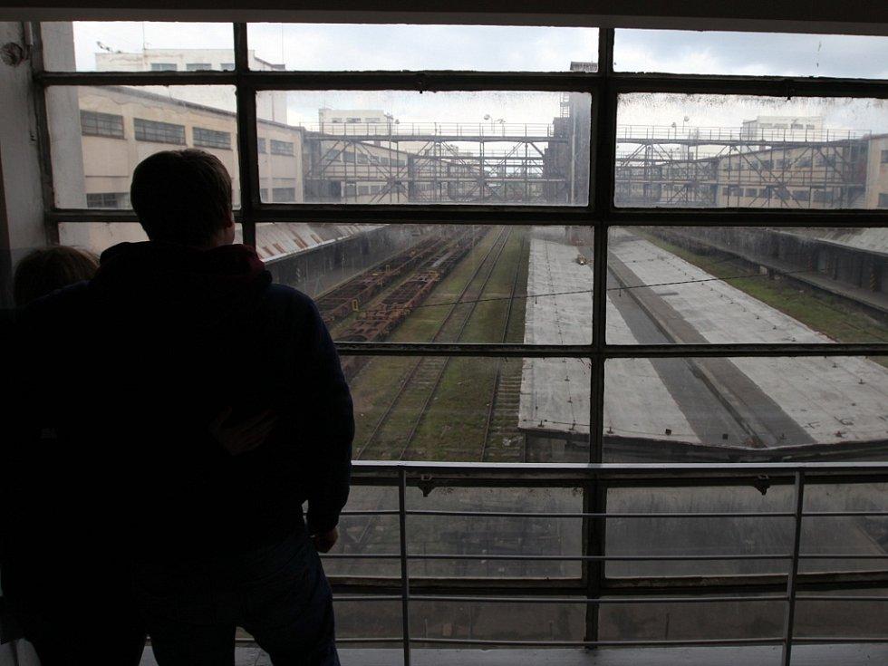 Nákladové nádraží Žižkov. Ilustrační foto.