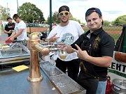 Na Kotlářce teklo pivo proudem a hrál se vynikající baseball.