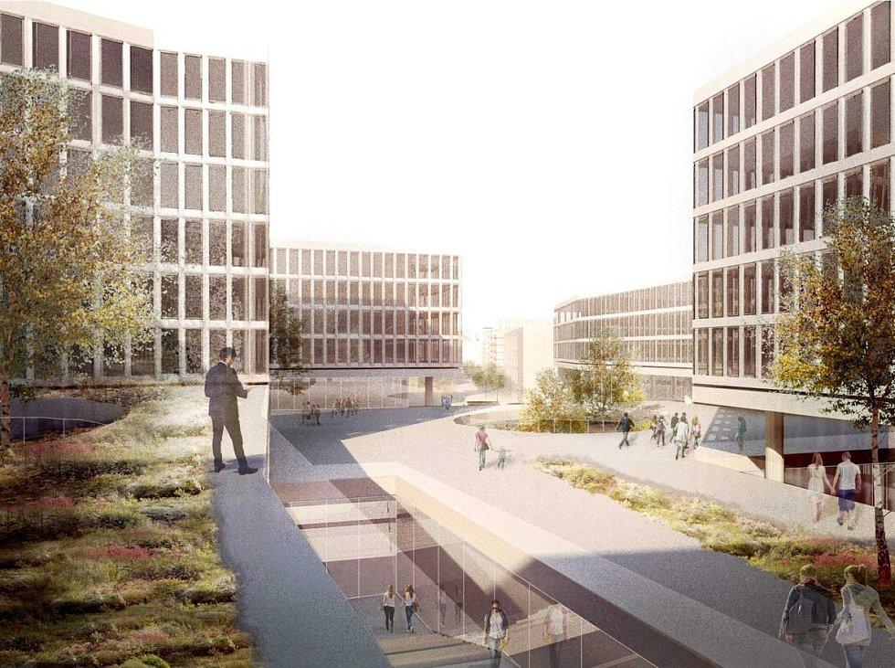 Česká spořitelna vybrala tři finalisty architektonické soutěže na stavbu nového sídla v developerském projektu Smíchov City.