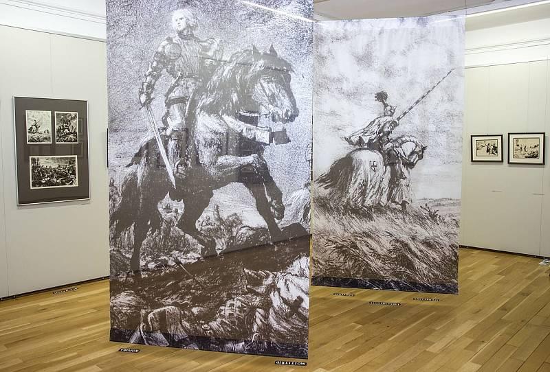 Velkou výstavu ilustrací Gustava Kruma uspořádalo nedávno Muzeum města Brna.