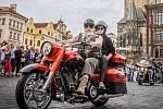 Harley-Davidson oslaví 115. výročí od založení značky v Praze.