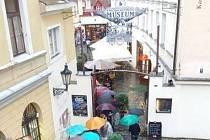 Návštěvnost Pražské muzejní noci v roce 2018 ovlivnilo počasí.